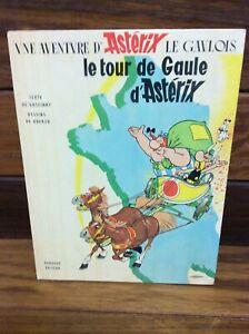 Astérix Le Tour de Gaule d'Astérix UDERZO & GOSCINNY éd Dargaud rééd 1965