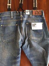 lee 101l 101l original logger jeans style #l9344lq (w31) 362