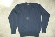 Paul & Shark-mens navy wool jumper.S/M.Slightly used.