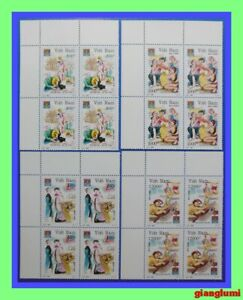 Vietnam Traditional festivals Set 4 Block 4 MNH NGAI