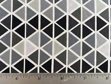 Rainbow Remix Triangles Robert Kaufman  AAK-15398 188 Pepper- Cotton Fabric