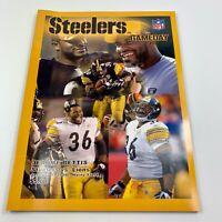 Pittsburgh Steelers Gameday Program 1-1-2006 Jerome Bettis - Rare Program