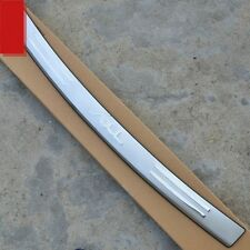 CHROME REAR BUMPER SILL COVER PROTECTOR TRIM For Kia soul 2010 2011 2012 2013