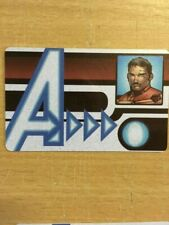 Marvel Heroclix Age of Ultron set Iron Man #-101 Id Card