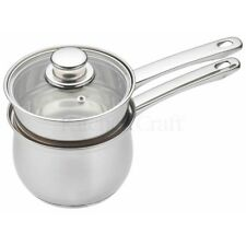 Kitchencraft Induction-safe Stainless Steel Double Boiler Porringer/bain-marie