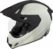Icon Variant Pro CONSTRUCT Full-Face Helmet (Raw White) SM (Small)