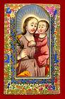 santino HOLY CARD San Giuseppe SANTINI