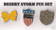 Desert Storm Pin Set Of 3
