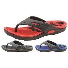 Men's sports flip flops thong sandals indoor outdoor slippers