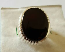 Yemeni Aqeeq ring Men Akik Ring Agate Ring Sterling Silver Ring Aqeeq rings Ebay