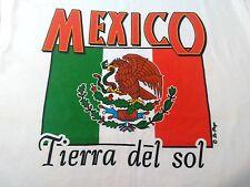 Mexico tierra del sol T-shirt XL 100% cottom