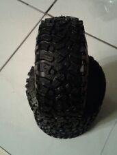 4 Reifen Crawler 1:10 118 x 45 mm Set mit Einlagen D90 SCX Honcho für Felge 1.9