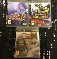Dynasty Warriors 6 / 6 Empires / 7 (Sony PlayStation 3 / PS3) 3 Game Bundle