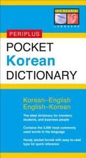 Pocket Korean Dictionary : Korean-English English-Korean by Gene Baik and...
