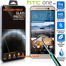 Premium 9H HD Tempered Glass Protection Screen Protector Film For HTC One M9
