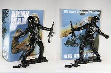 "Frank Kozik SIGNED AUTOGRAPHED 17"" Black Big Army Man Ultraviolence LE 50 Bust"