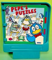 SEGA Pico Pepe's Puzzles for Pico Video Game System Rare