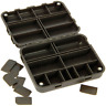 Tackle Safe small Tackle Box compact Storage System Stiff Rig Box 30 Fächer BOX5
