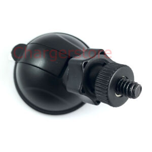 Low Profile mini suction cup mount 6mm Screw 1/4 inch for Dash Cam Action camera