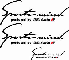 Naklejki Sport Mind AUDI BMW SKODA SEAT VW Sticker Stripes Decals HIGH QUALITY