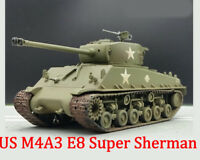 Easy Model 1/72 U.S Army M4A3 E8 Sherman Middle Tank Model #36257