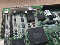 Amiga 4000T inc Audio/Video/Ports/Disk Module Capacitor Recapping Inc Return P&P