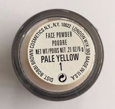 Bobbi Brown ~ Face Powder ~ Mini 6g ~ 1 Pale Yellow