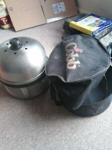 COBB PORTABLE BBQ, CHARCOAL GRILL, CARRY BAG