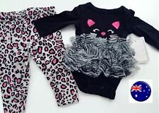 Newborn Girl Baby Cat black Cat TUTU Tulle Halloween Party Costume Romper PROP