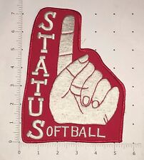 Status Softball Patch