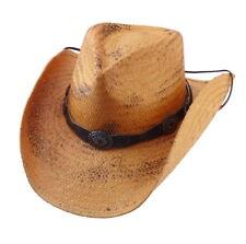 Strohhut Red Rock Western Cowboyhut braun aus Stroh Westernmode Damen & Herren