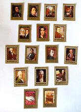 EMIRATI ARABI AJMAN STATE SERIE  FRANCOBOLLI FRYARYK CHOPIN -stamps - timbres