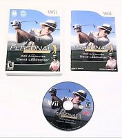 My Personal Golf Trainer With IMG Academies & David Leadbetter Nintendo Wii