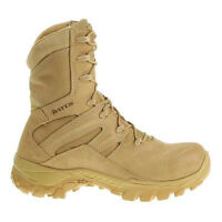 "Bates E01450 M8 Hot Weather Tactical Tan Boots 8"" Soft Toe Vibram Sole 5M"