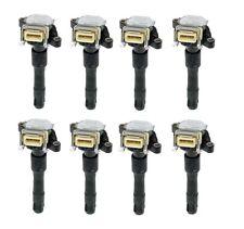 For BMW E39 E38 540i 740i Set 8 Spark Plug Ignition Coils STI 11860T Karlyn