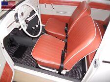 Volkswagen Beetle 1960-1969 Custom Car Floor Mats CocoMats 4 Piece Set