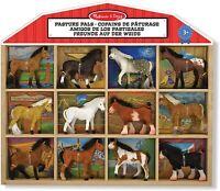 Melissa & Doug Pâturage Copains 12 Poney Cheval Action Figurine Set de Jeux