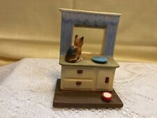 Collectible Danbury Mint Porcelain Figurine Cute Cats! Inside Looking Out