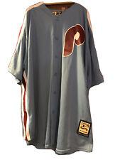 Mike Schmidt # 20 Philadelphia Phillies Majestic Jersey Size 2XL Mens