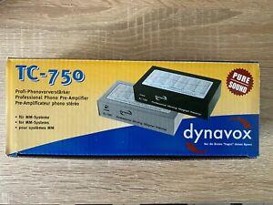 Phono Preamp Vorverstärker Dynavox TC-750, neu, für MM Systeme