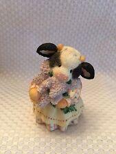 Enesco Mary Moo Moos The Coming Of Spring Brings Udder Joy Figurine #414MM689
