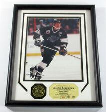 Wayne Gretzky Framed Display Photo 24kt Gold Coin Highland Mint /500 DF025377