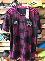 Adidas Mexico Black Pink Soccer Jersey 2021 Stadium Quality Size S Men's Only