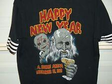 Ozzy Osbourne 1981 Rare New Years Eve Vintage Concert T-Shirt La Sports Arena Lg