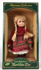 """Barbara Lee Petite Doll Porcelains Dolls of the World Collection """" DAWN """" 000536"""