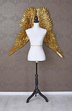 Mannequin de Couture Schneider Poupée or Blanc Vitrine France Shabby