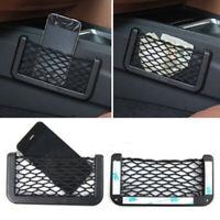 Universal Car Seat Side Back Storage Net Bag Phone Holder Pocket Organizer HOT
