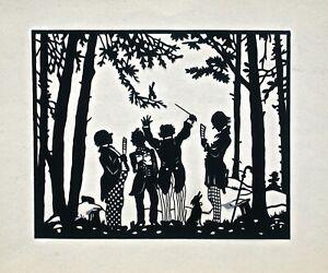 Scherenschnitte Silhouette Vintage Cut Out Art (XI)