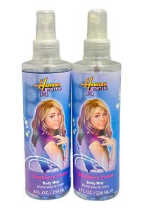 Hannah Montana Starberry Twist Body Mist 8fl.oz./236ml New; LOT OF 2
