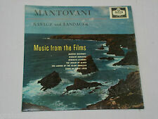 Mantovani Rawicz and Landauer Music from the Films vinyl LP Album